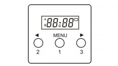 OT-2000-LED-GC-BL (Gas Timer-BLUETOOTH)